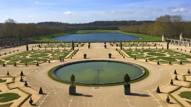 *Jardines de Versalles (Francia).*