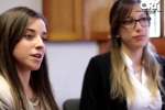 Romina Arenares y Romina Maciel, graduadas de Universidad ORT Uruguay