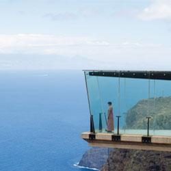 Diseñá un mirador ubicado en el paisaje que te imagines