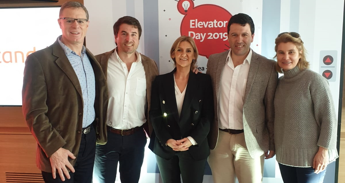 Zafrales fue premiado en el Elevator Day de Santander