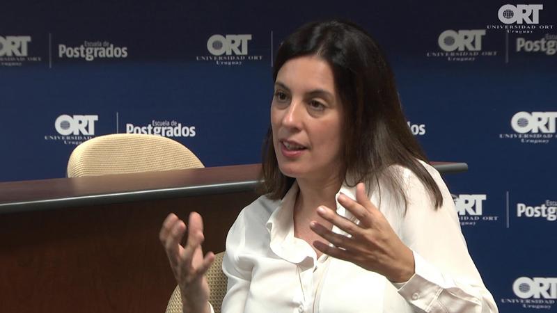 Mariana Gattoni, profesora visitante de la Escuela de Postgrados de ORT