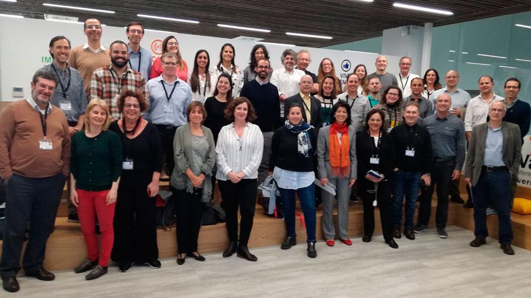 *Última reunión presencial del Proyecto LISTO, Universidad de Valladolid, octubre de 2019*