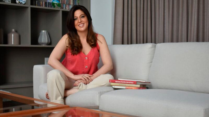 Nicole Sosenke, graduada de la Licenciatura en Diseño de Interiores de ORT