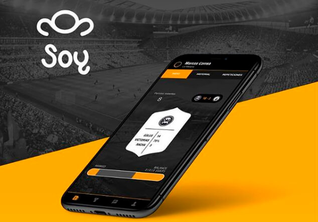 Aplicación SOY para futbolistas amateur