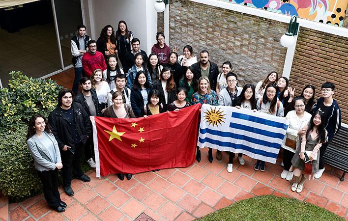 *Despedida de la generación 2017/2018 de estudiantes chinos*