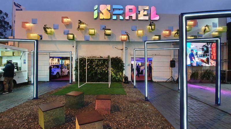 Participación en la Expo Prado junto a la Embajada de Israel