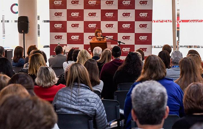Delegación de Jewish Federations of North America visitó la Universidad ORT Uruguay
