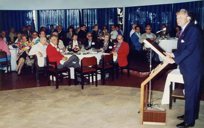 *Oratoria del Dr. Luis Alberto Lacalle, presidente de Uruguay de la época, en evento de World ORT*