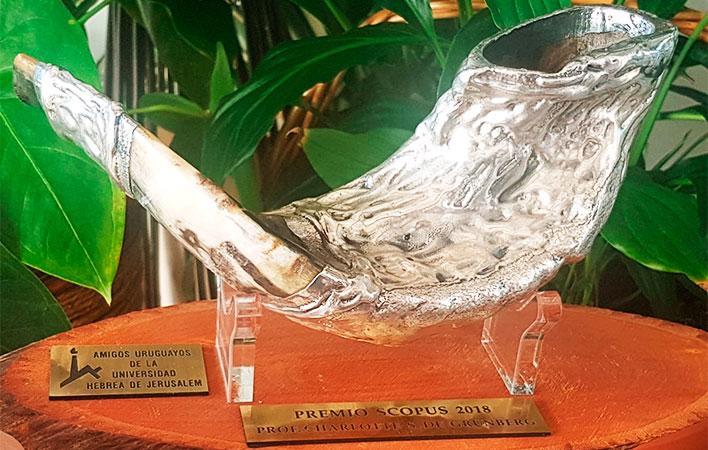 Premio Scopus - Charlotte de Grûnberg - Directora general de Universidad ORT Uruguay