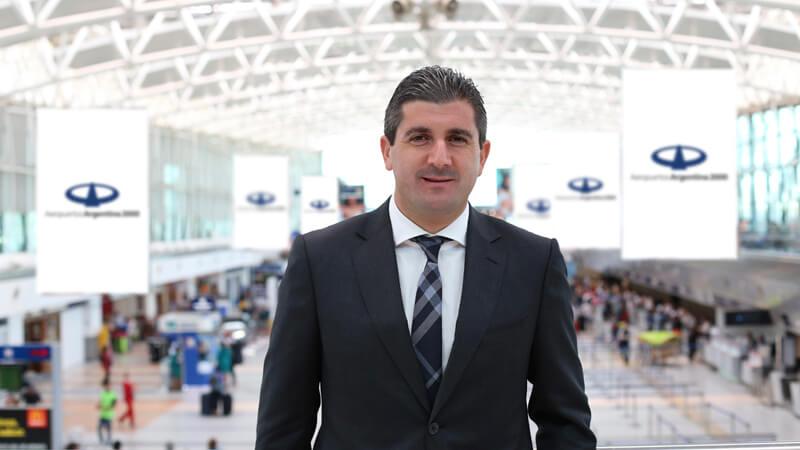 Daniel Ketchibachian, CEO de Aeropuertos Argentina 2000 y graduado del MBA de ORT