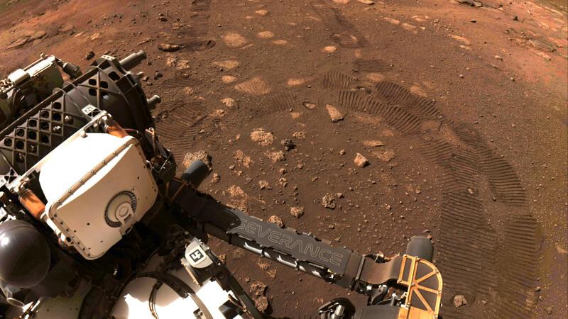 *Perseverance en Marte. Imagen extraída de la NASA.*