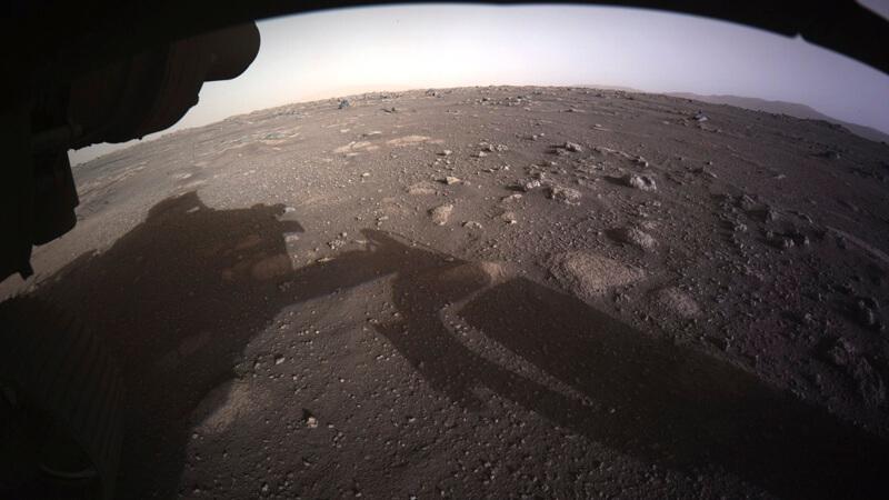 *Marte según Perseverance. Imagen extraída de la NASA.*