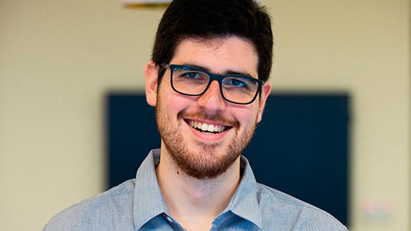 Emanuel Schertz, graduado de la Licenciatura en Economía de ORT.