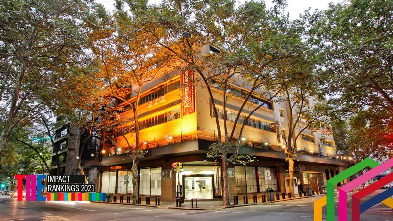 Universidad ORT Uruguay quedó posicionada entre las 401-600 universidades del THE Impact Rankings.