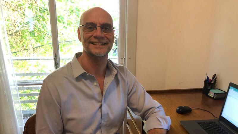 Rodolfo Gioscia, Licenciado en Gerencia y Administración, y del MBA de ORT.