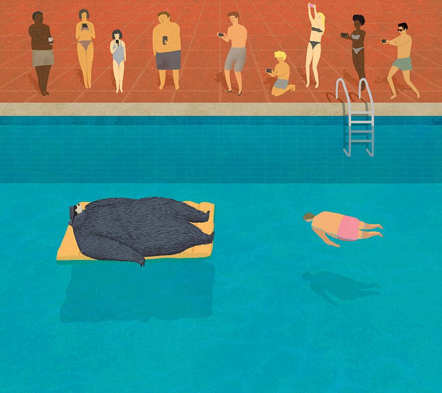 Ilustración realizada por Andrés Silva.