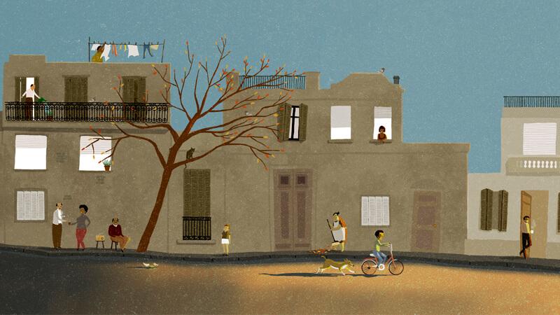Ilustración realizada por Andrés Silva