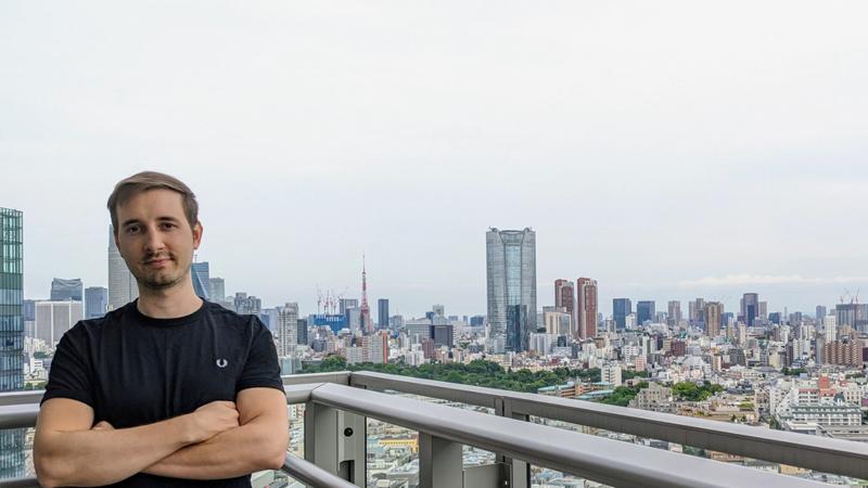 Natán Menoni, Ingeniero en Sistemas graduado de ORT