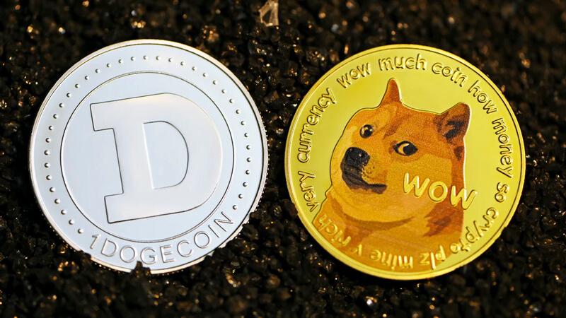 *El dogecoin es una criptomoneda que surgió a partir de un meme.*