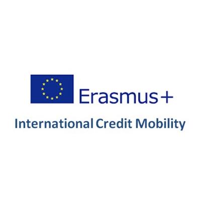 Logo Erasmus International Credit Mobility
