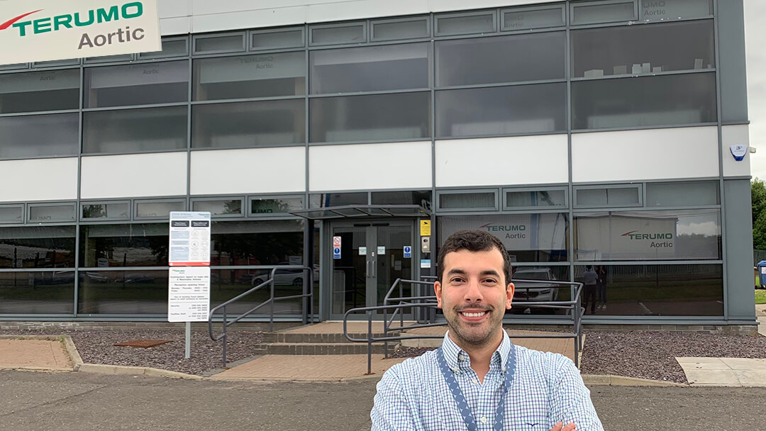 Sebastián Mascheroni, graduado de Ingeniería en Electrónica
