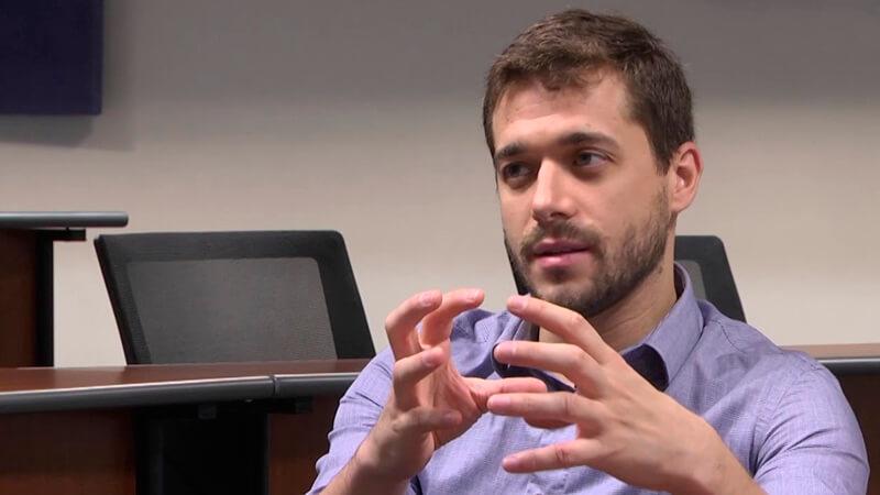 Pablo Pereira, graduado del MBA de ORT y cofundador de Armor Bionics.