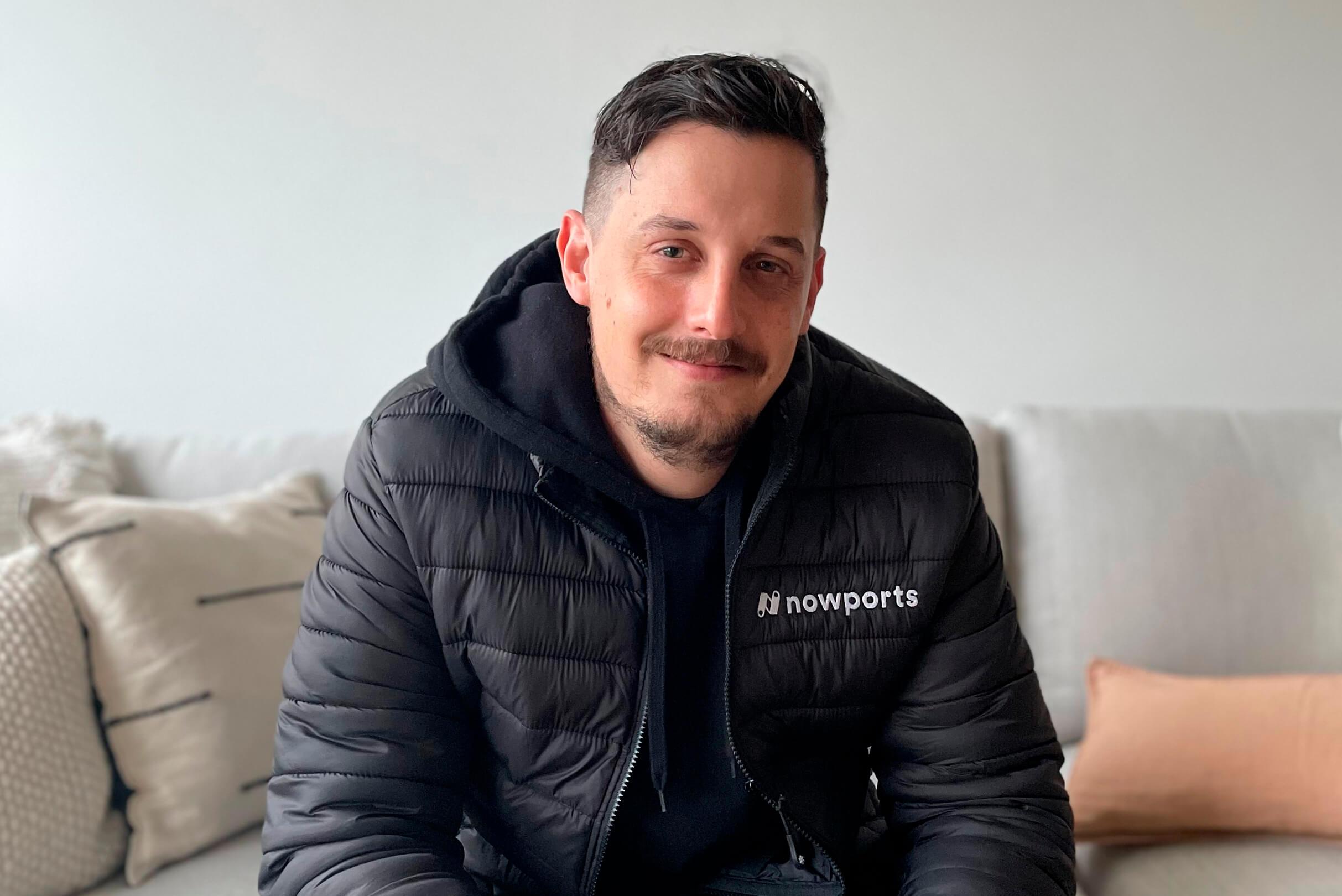 *Santiago García da Rosa, CTO de Nowports.*