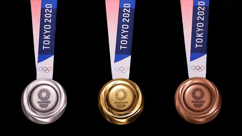*Las medallas olímpicas de Tokio 2020. Foto: Olympics.com*