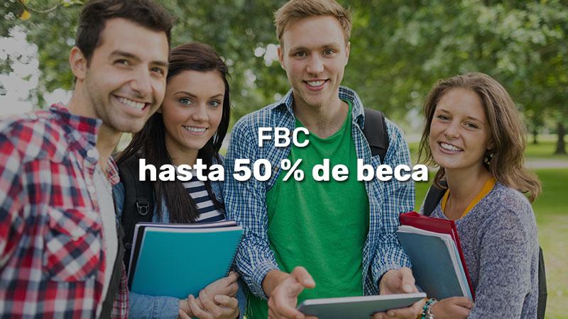 FBC hasta 50 % de beca con declaración jurada