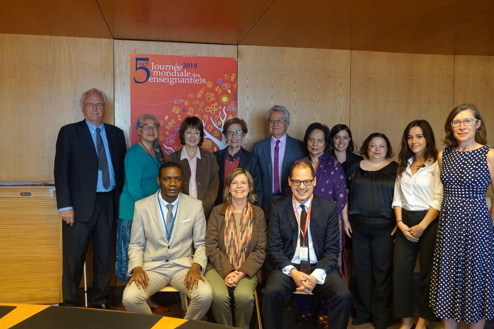 Reunión de Comité de Expertos de OIT y UNESCO