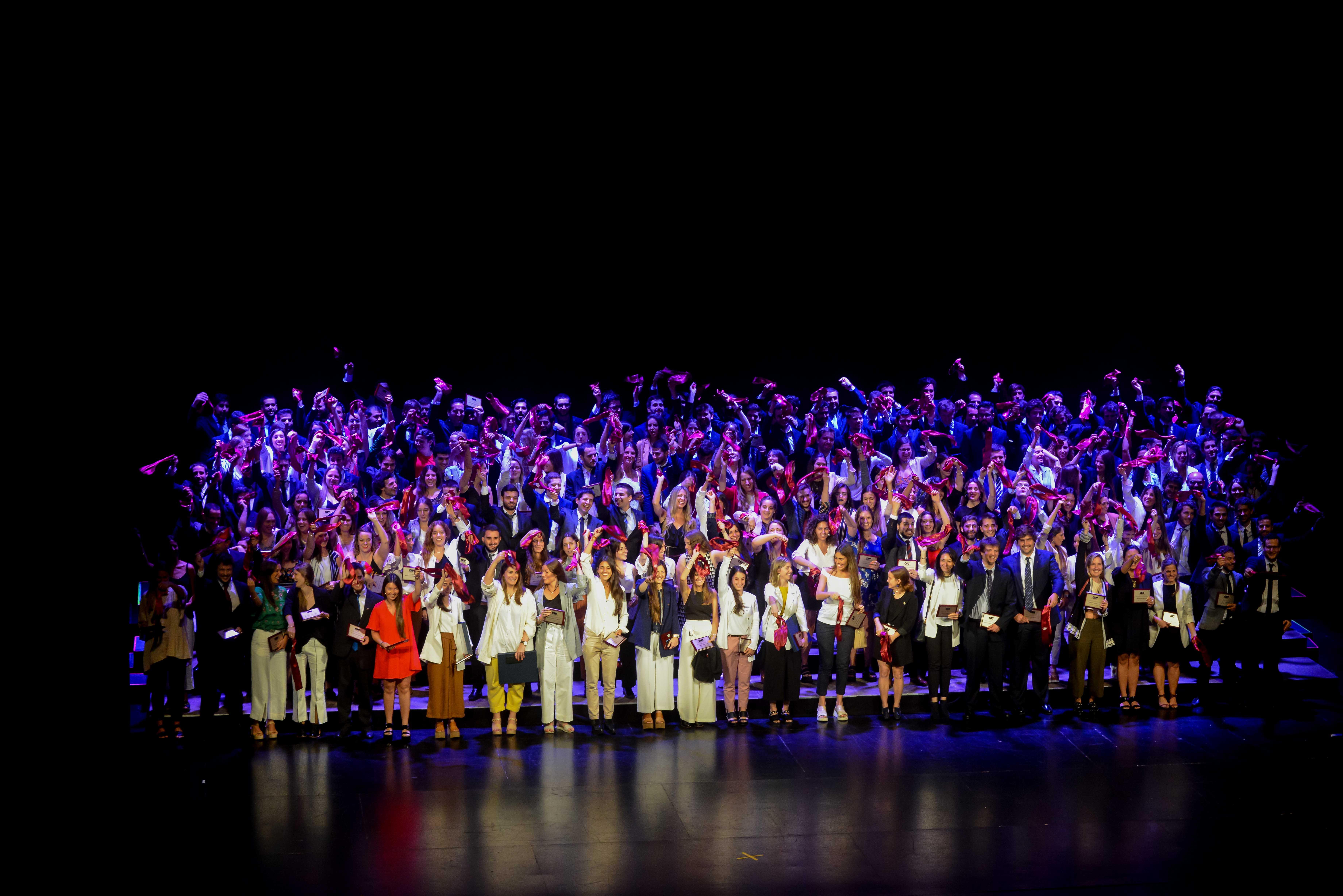Ceremonia de graduación - Universidad ORT Uruguay