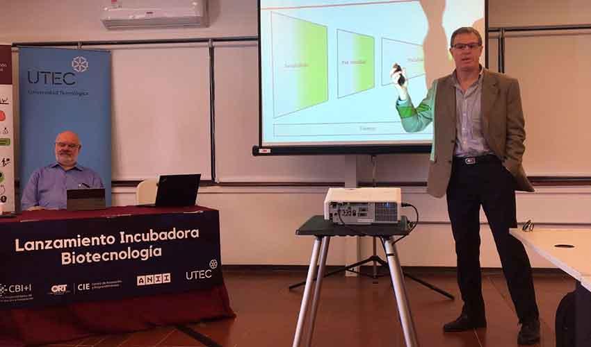 Inauguración de la incubadora en biotecnología CIE BIO
