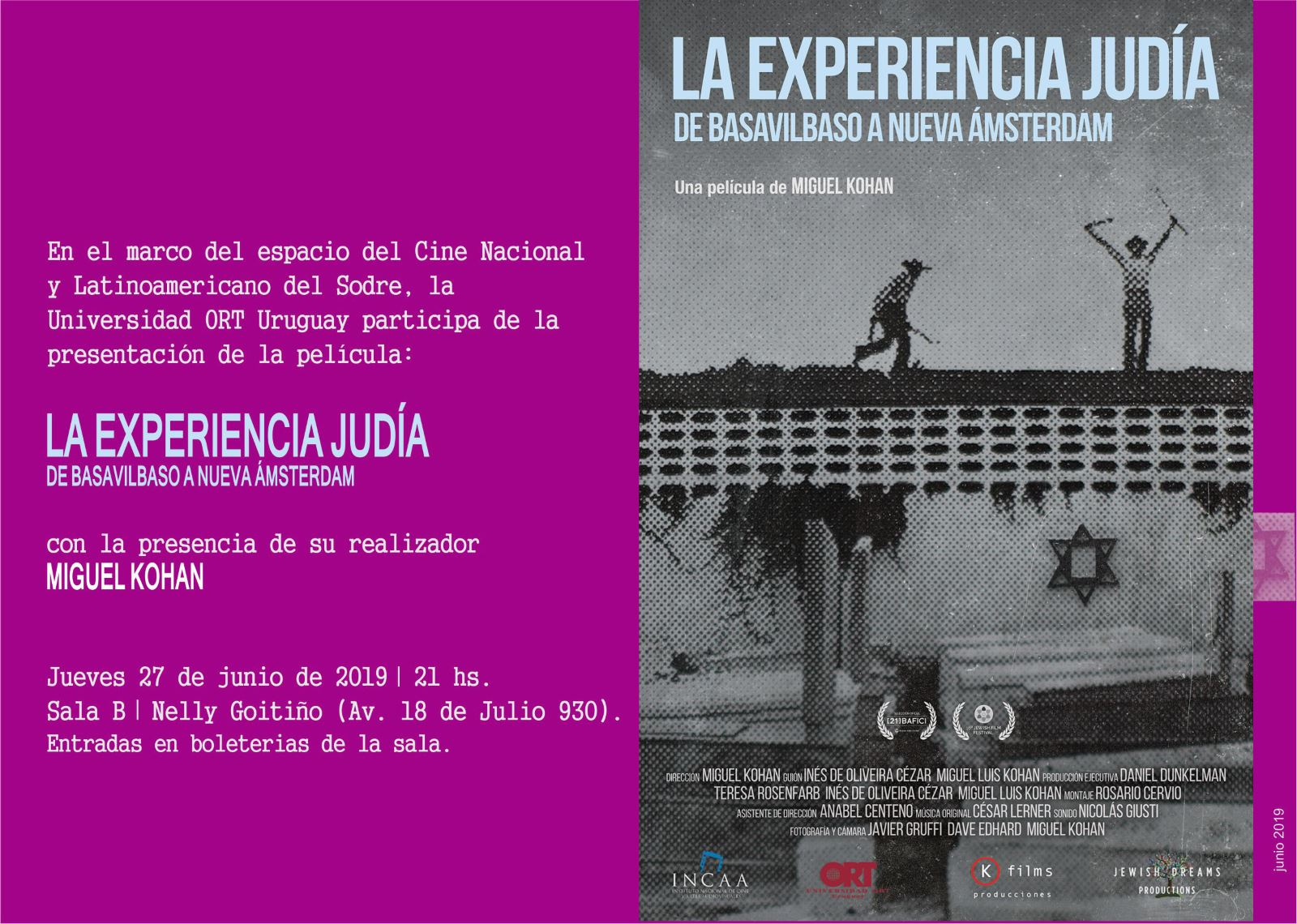 La experiencia judía: De Basavilbaso a Nueva Ámsterdam
