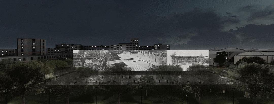 Estudiantes de Arquitectura obtienen el tercer premio en concurso internacional en Berlín
