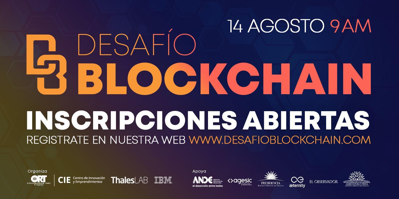 Desafío Blockchain 14 de agosto