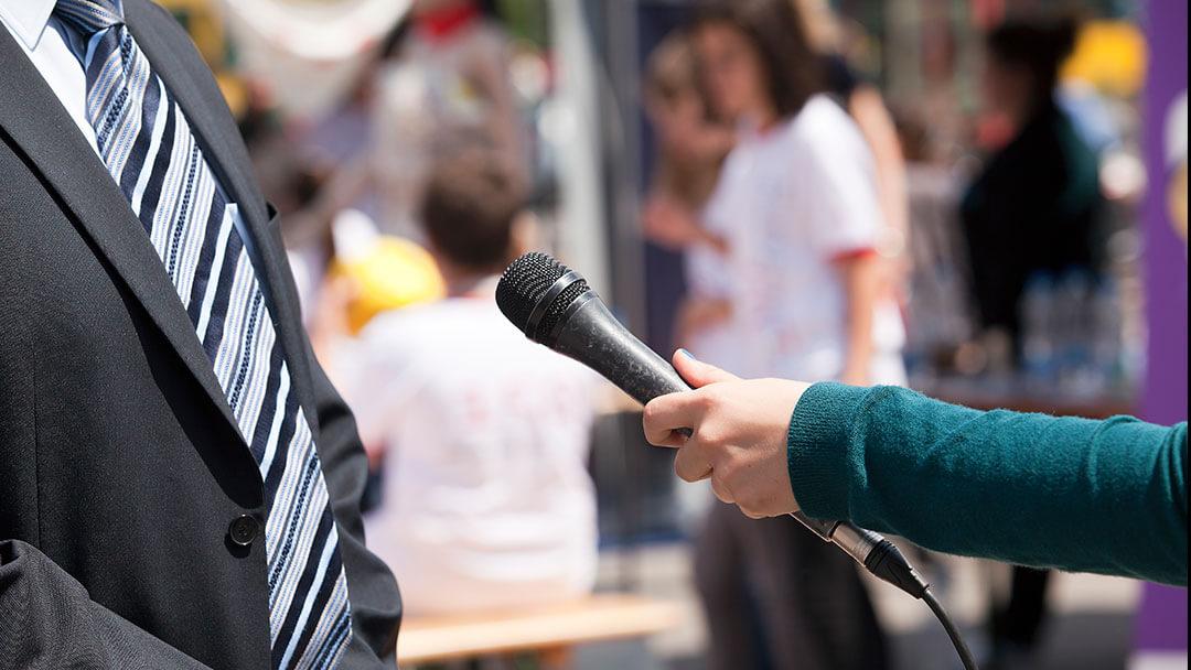 Entrevistas y cobertura de prensa