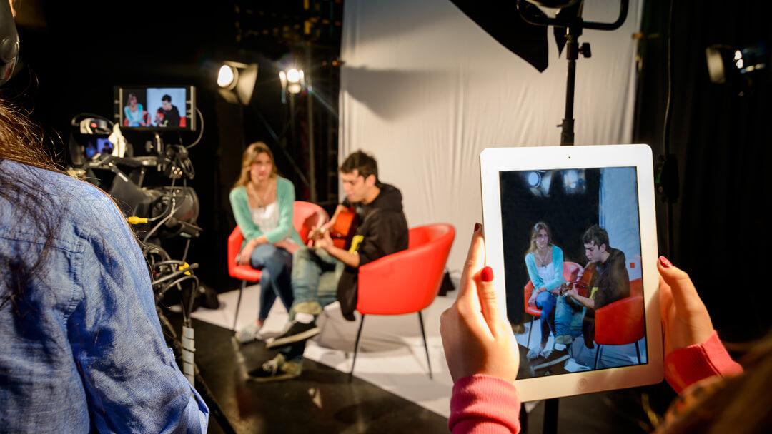 Un complejo de producción audiovisual de estándar profesional