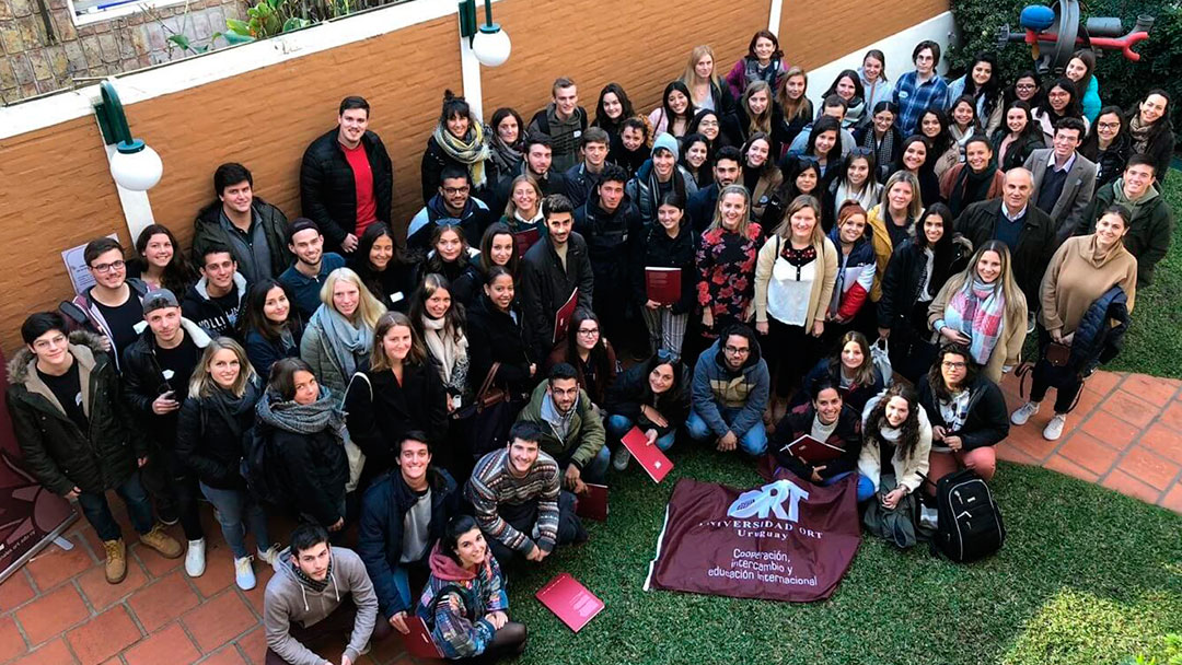 Intercambios internacionales para estudiantes de la Universidad ORT Uruguay