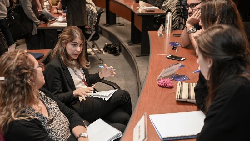 Estudiantes del MBA de ORT